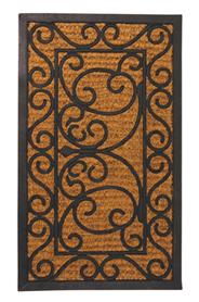 Lábtörlő, gumi-kókusz, 75 x 45 cm RB08