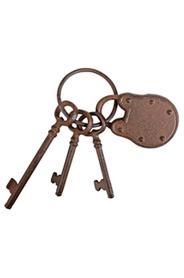 Kulcskarika dekor lakattal DB64