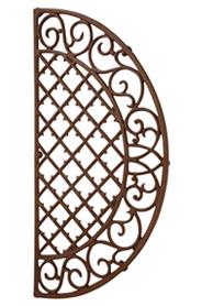 Lábtörlő, félkör, 67 x 34 cm LH46