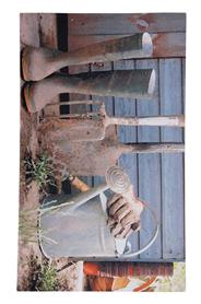 Kerti szerszámos lábtörlő - Cipős szőnyeg, 75 x 45 cm RB86