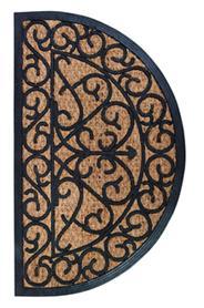 Lábtörlő, gumi-kókusz, 75 x 45 cm RB07