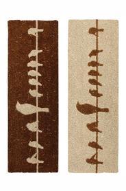 Lábtörlő, kókuszrost, 75 x 25 cm RB130
