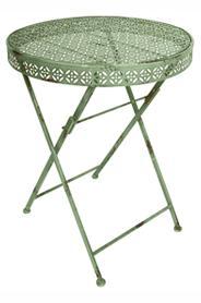 Kerek asztal, zöld IH008